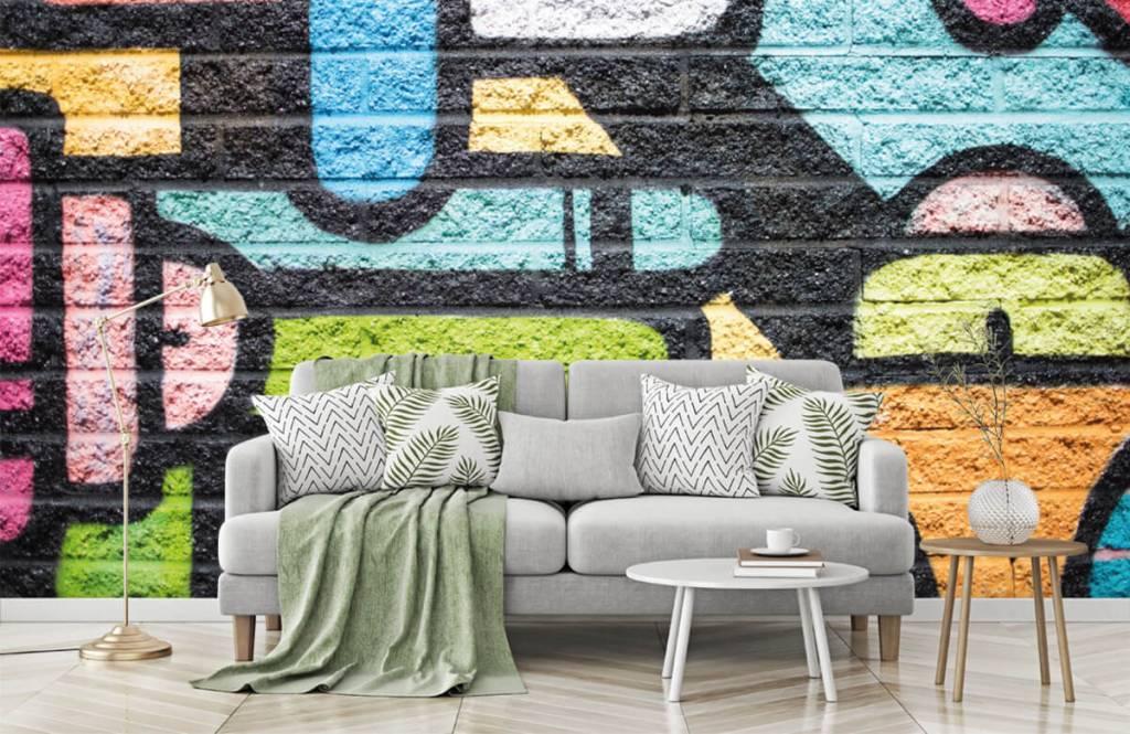 Graffiti - Graffiti wall - Teenage room 7