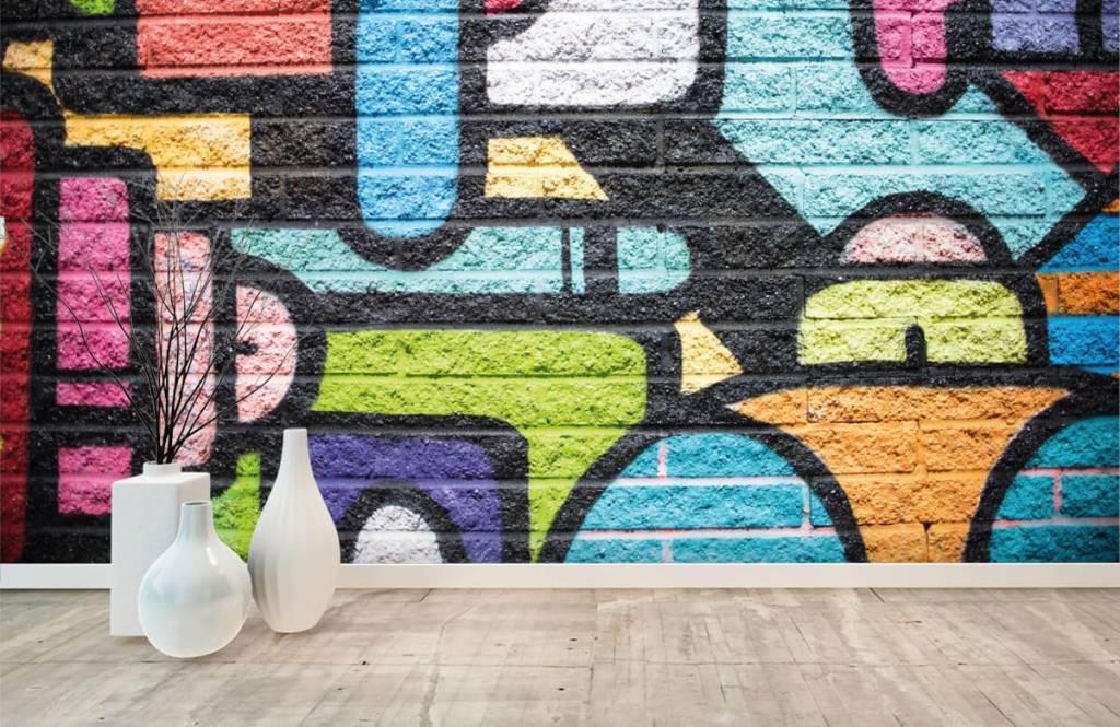 Graffiti - Graffiti wall - Teenage room 8
