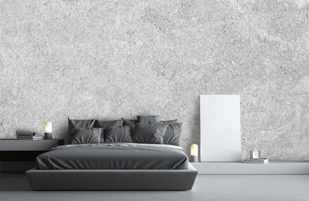 Concrete look wallpaper - Grey concrete structure - Kitchen 1