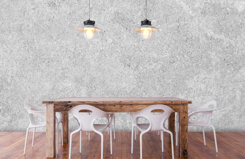 Concrete look wallpaper - Grey concrete structure - Kitchen 5