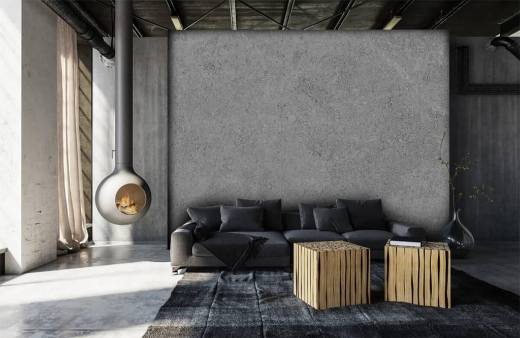 Concrete look wallpaper - Grey concrete structure - Kitchen 8