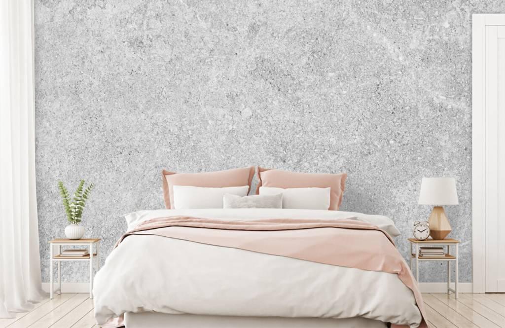 Concrete look wallpaper - Grey concrete structure - Kitchen 9