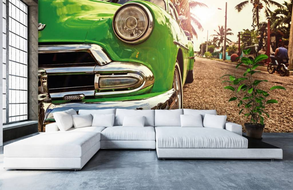 Transportation - Green classic car - Bedroom 1