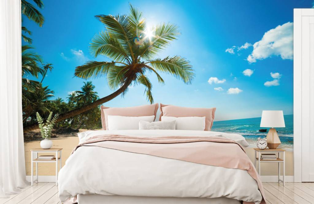 Palmtrees - Large palm tree - Bedroom 2