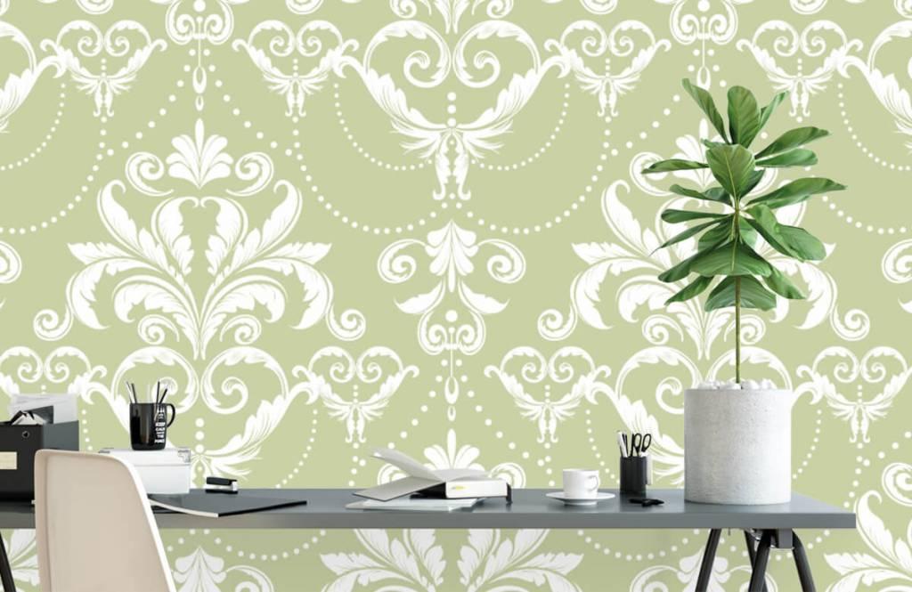 Baroque wallpaper - Classic pattern - Bedroom 1