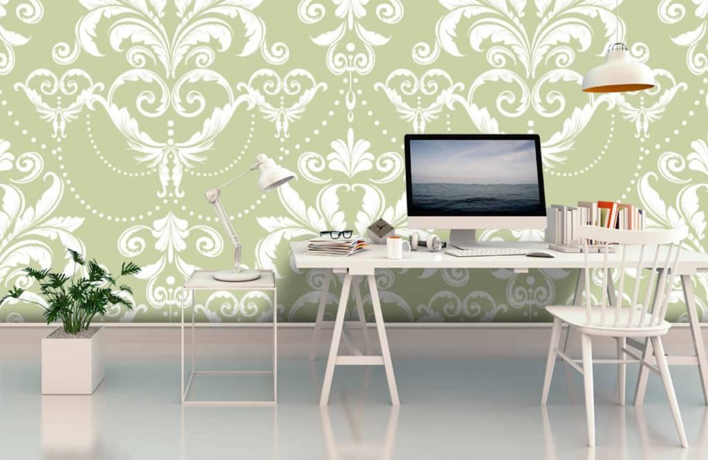 Baroque wallpaper - Classic pattern - Bedroom 2