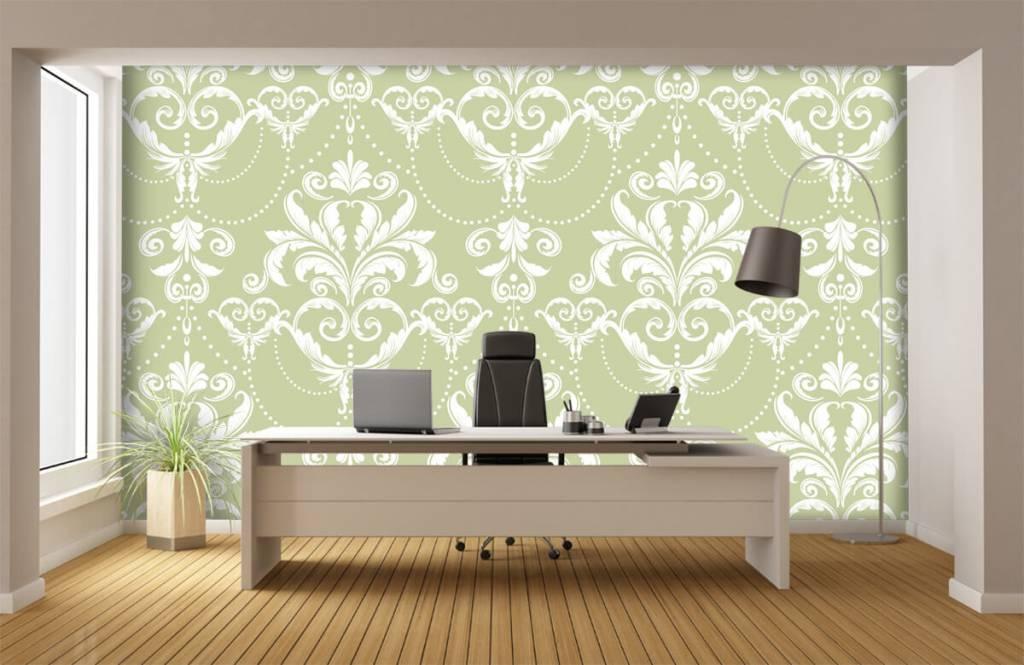 Baroque wallpaper - Classic pattern - Bedroom 3