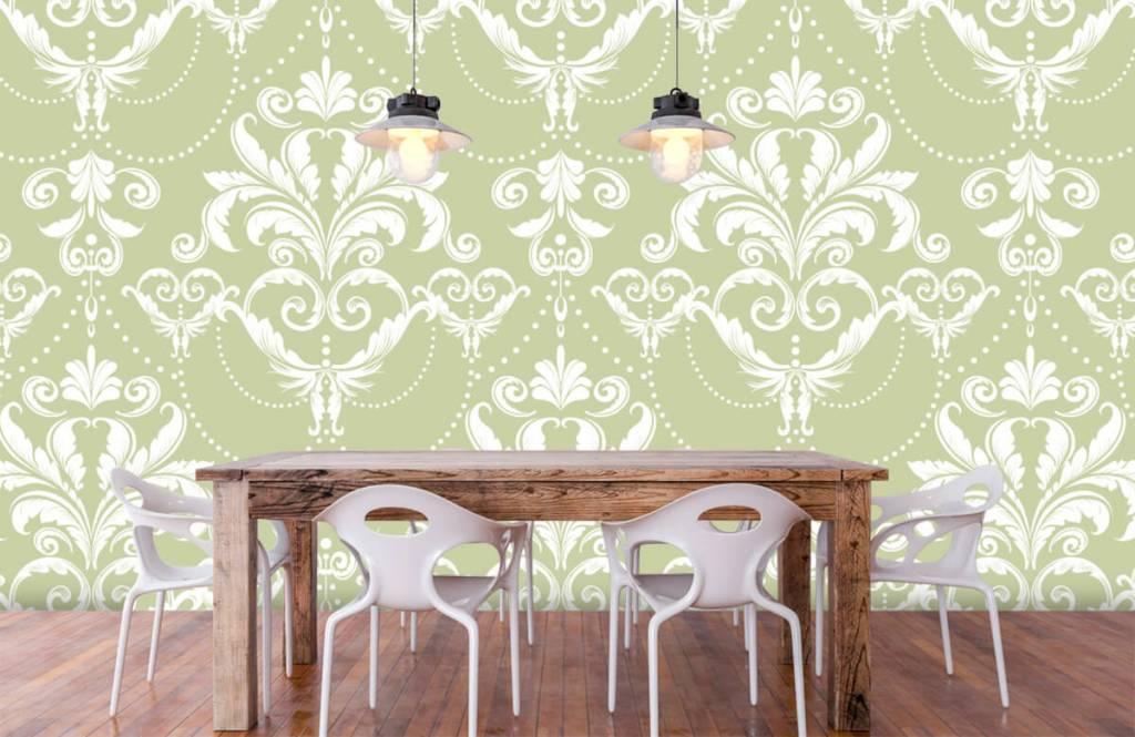 Baroque wallpaper - Classic pattern - Bedroom 6