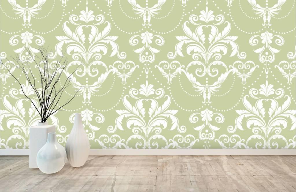 Baroque wallpaper - Classic pattern - Bedroom 7