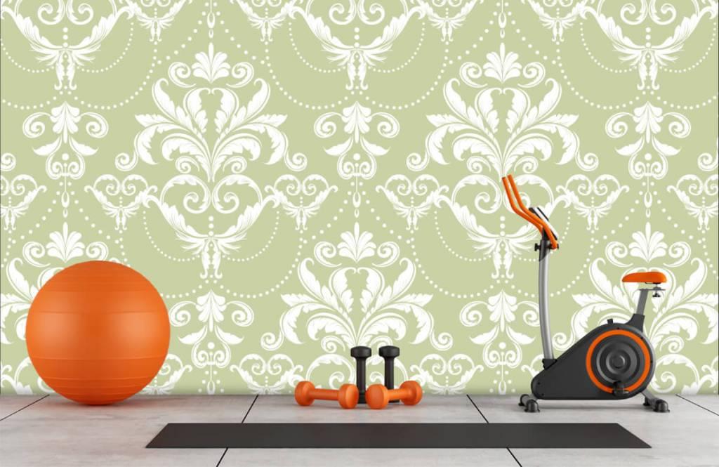Baroque wallpaper - Classic pattern - Bedroom 8