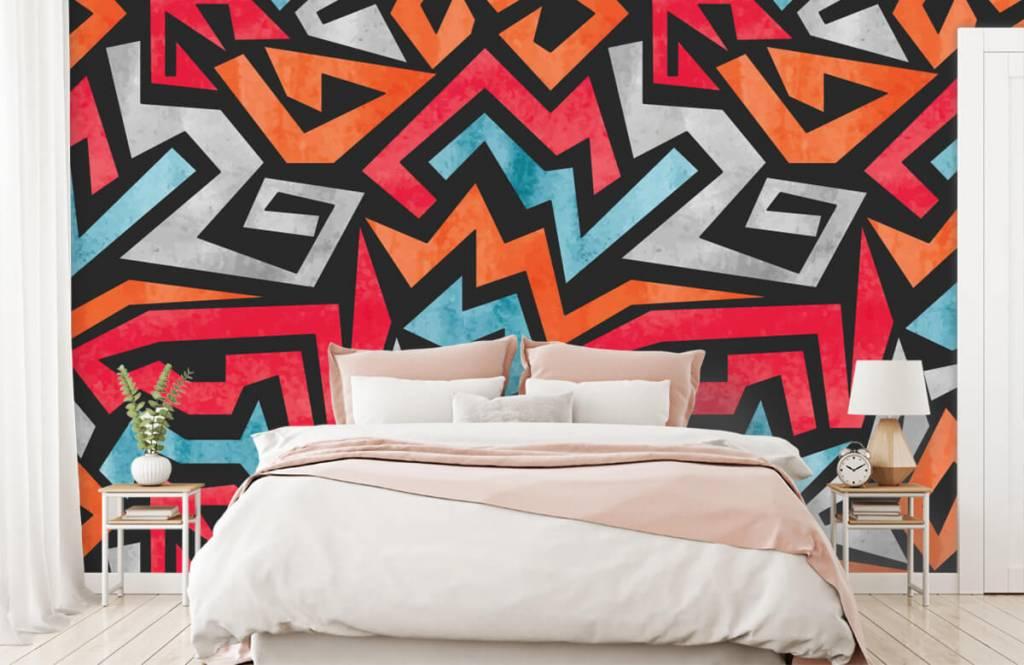 Graffiti - Colorful graphic print - Teenage room 2