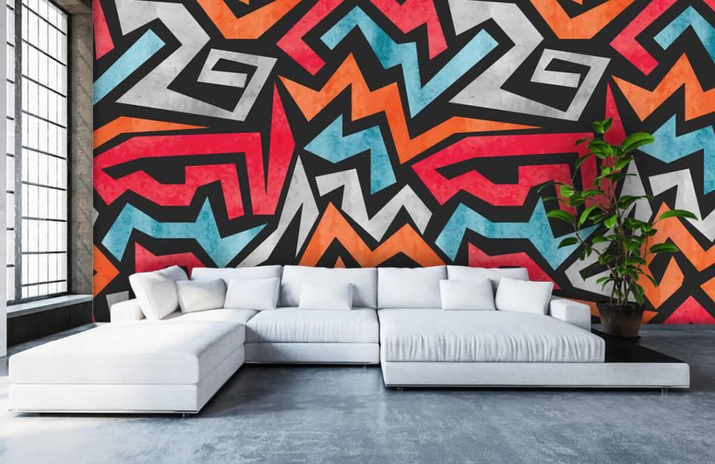 Graffiti - Colorful graphic print - Teenage room 5
