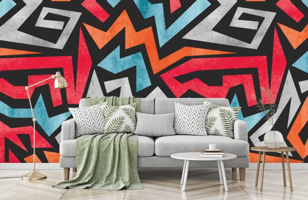 Graffiti - Colorful graphic print - Teenage room 7