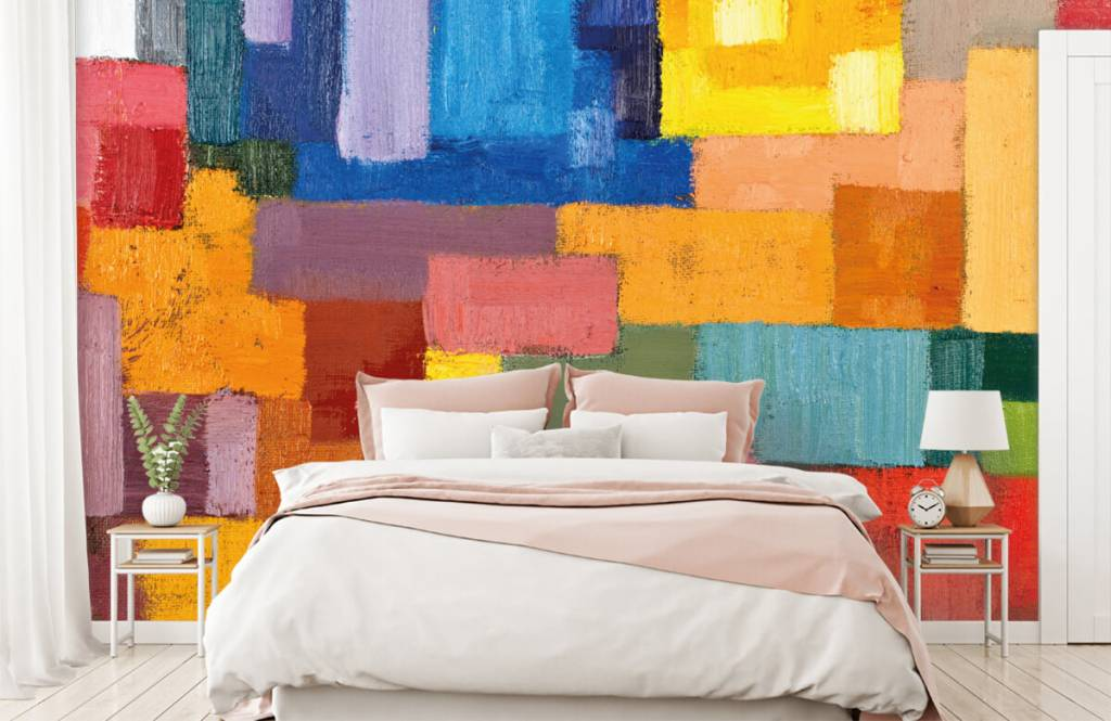 Abstract - Colorful surface distribution - Living room 2