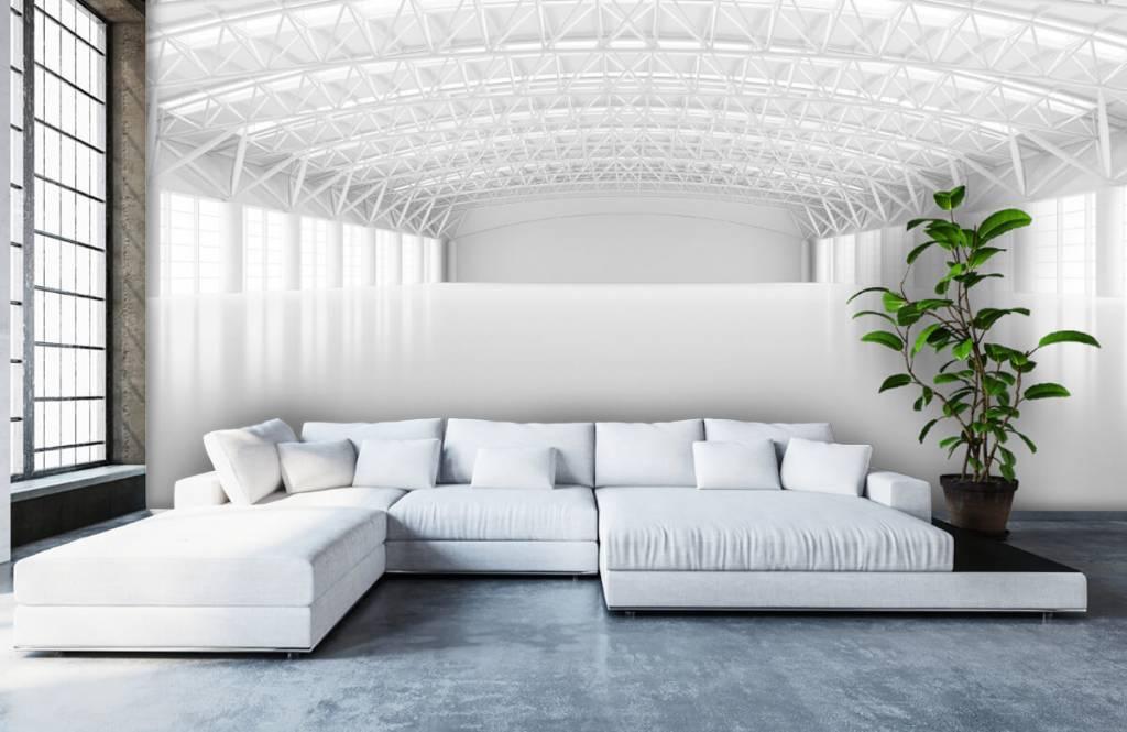 Buildings - Empty white warehouse - Management 5