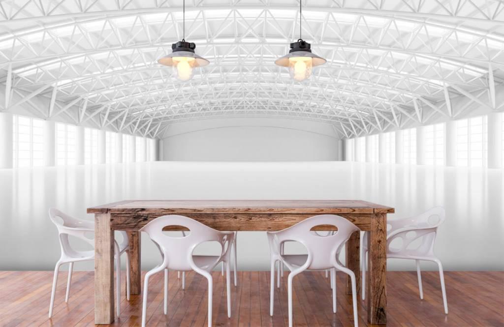 Buildings - Empty white warehouse - Management 6