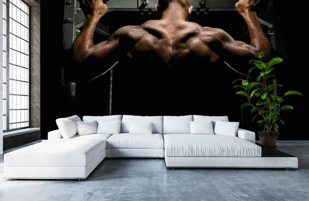 Fitness - Man with a muscular back - Garage 6