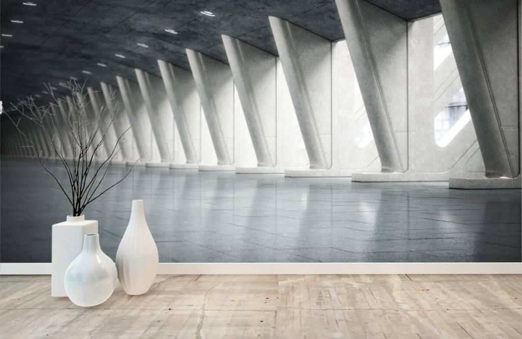 Buildings - Modern hall - Office 1