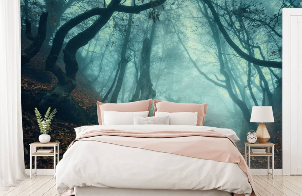 Forest wallpaper - Mysterious forest - Bedroom 2