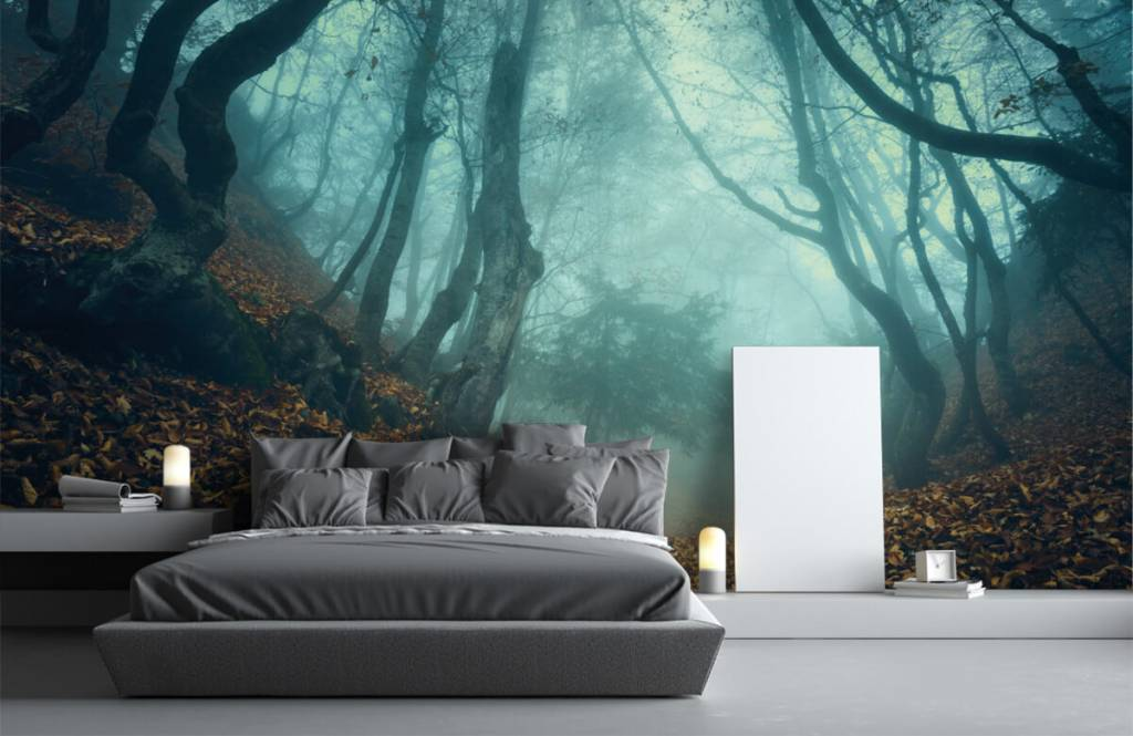 Forest wallpaper - Mysterious forest - Bedroom 3