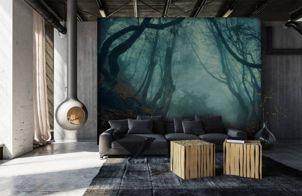 Forest wallpaper - Mysterious forest - Bedroom 6
