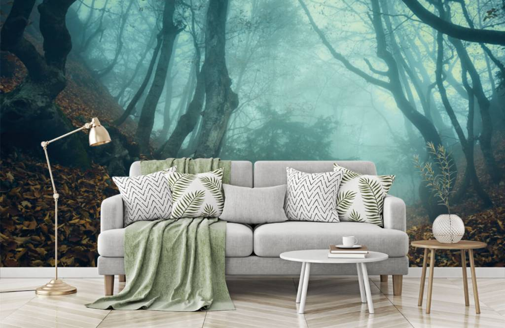Forest wallpaper - Mysterious forest - Bedroom 7