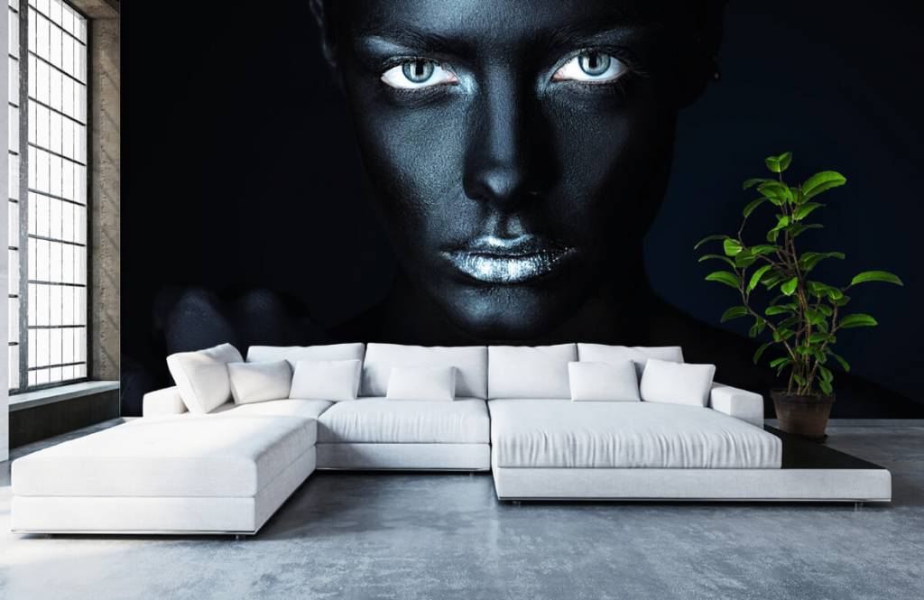 Portets and faces - Mysterious woman - Living room 6