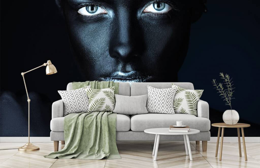 Portets and faces - Mysterious woman - Living room 7