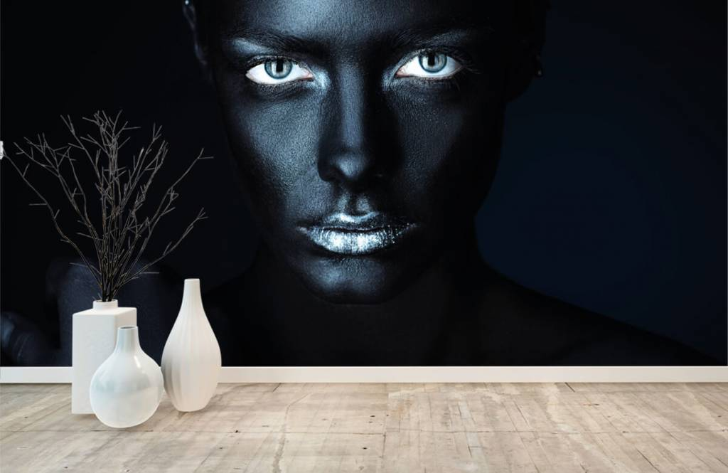 Portets and faces - Mysterious woman - Living room 8