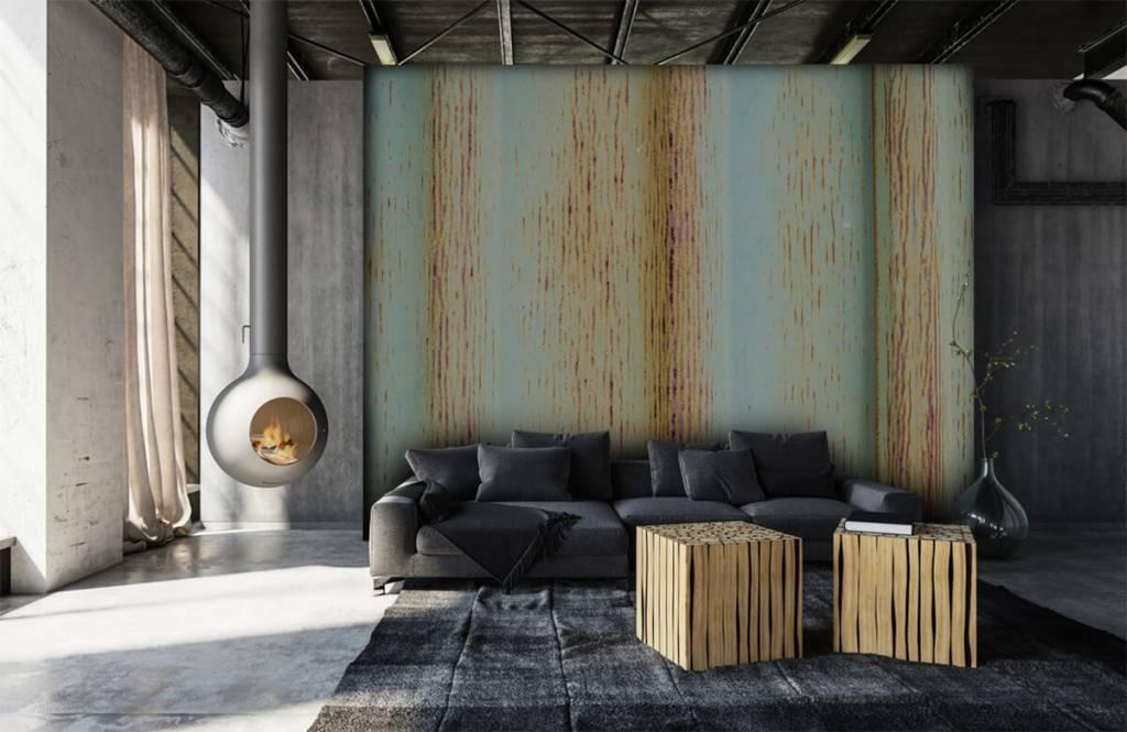 Elements - Old zinc wall - Garage 7