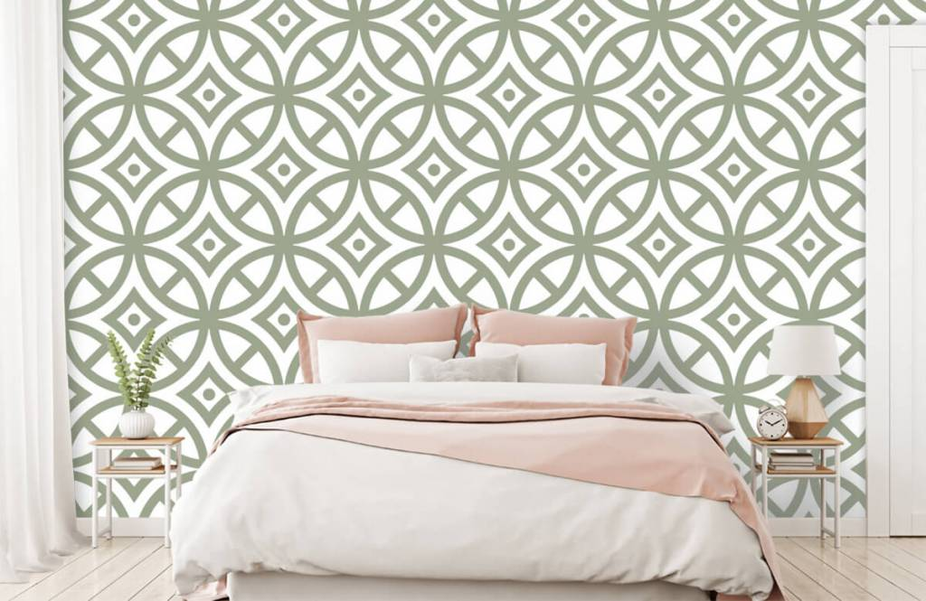 Other - Pattern of circles and diamonds - Bedroom 2