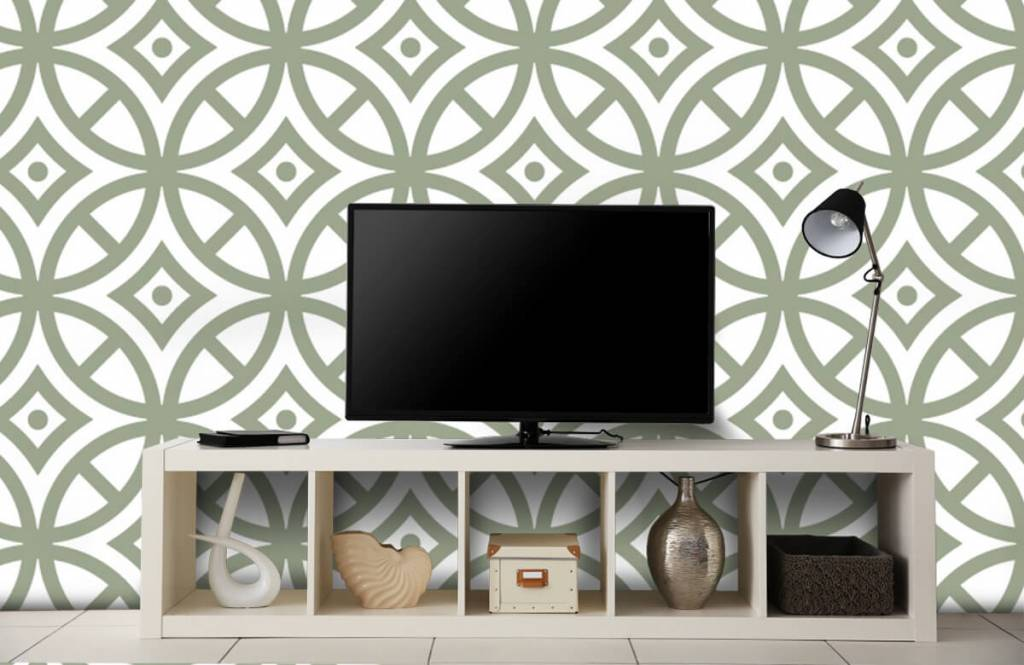 Other - Pattern of circles and diamonds - Bedroom 5