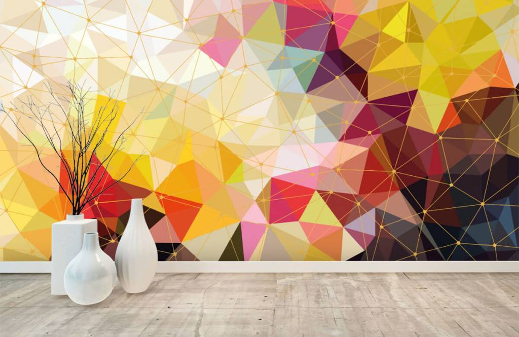 Other - Print of colorful triangles - Bedroom 8