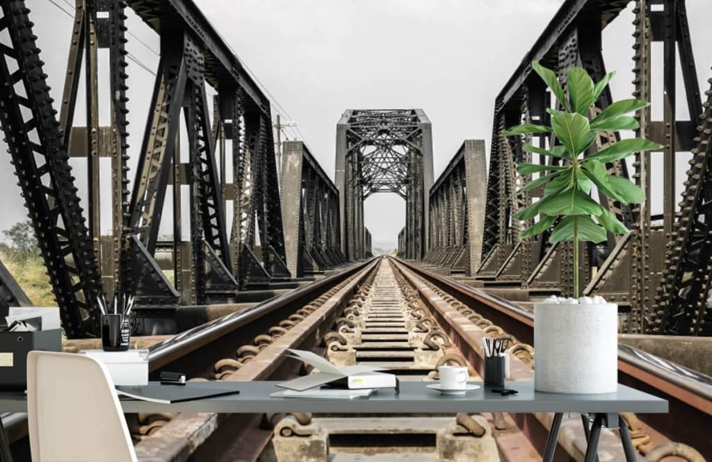 Elements - Metal railway bridge - Garage 2