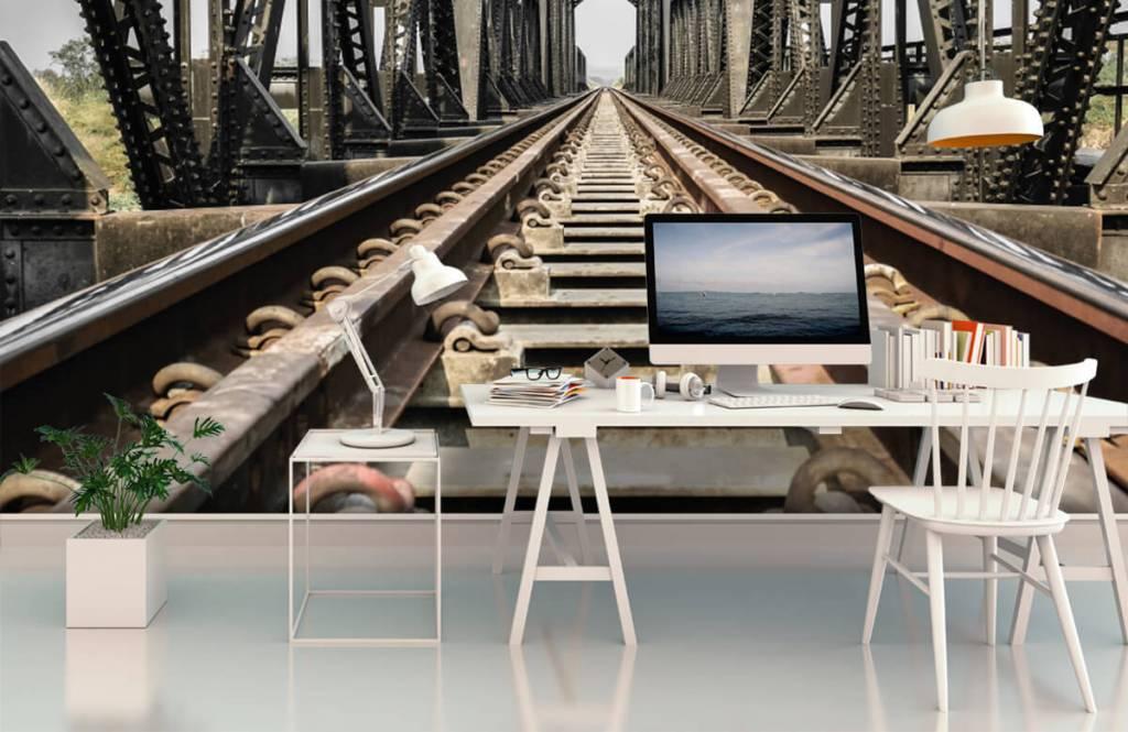 Elements - Metal railway bridge - Garage 3