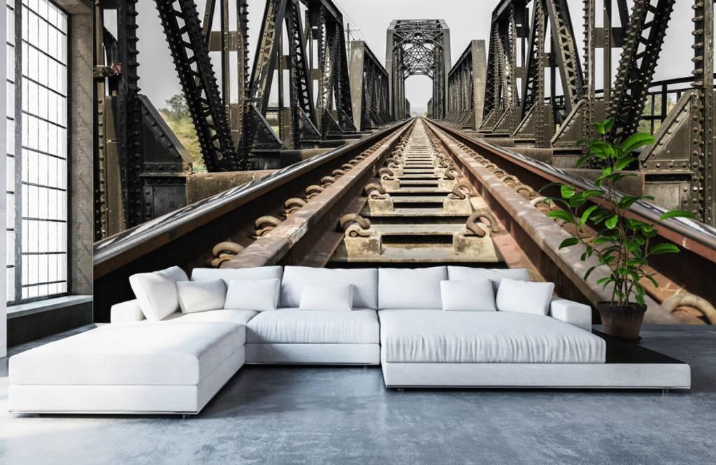 Elements - Metal railway bridge - Garage 6