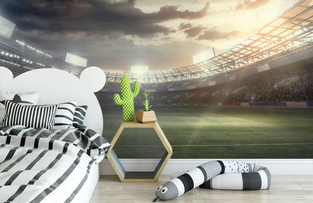 Stadiums - Stadium at sunset - Children's room 1