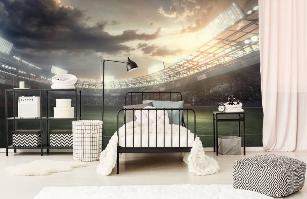Stadiums - Stadium at sunset - Children's room 2