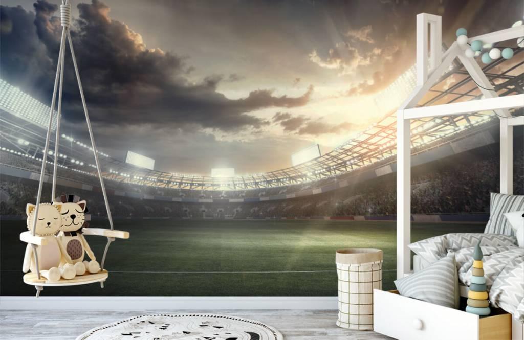 Stadiums - Stadium at sunset - Children's room 3