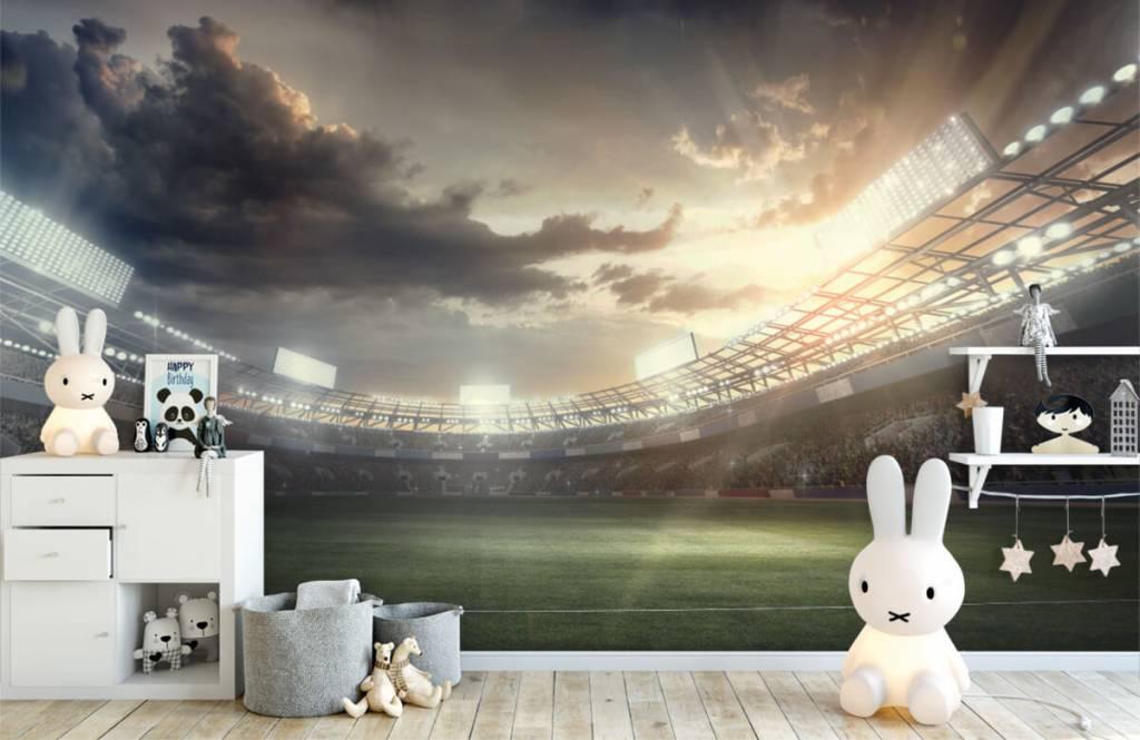 Stadiums - Stadium at sunset - Children's room 4