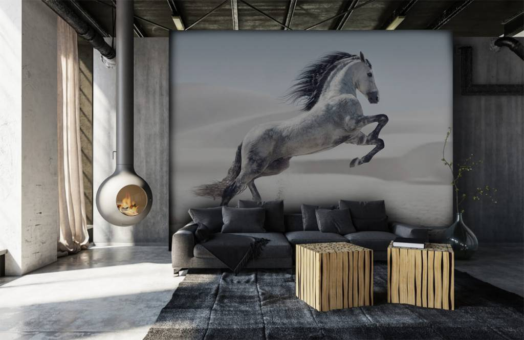 Horses - Prancing horse - Children's room 1