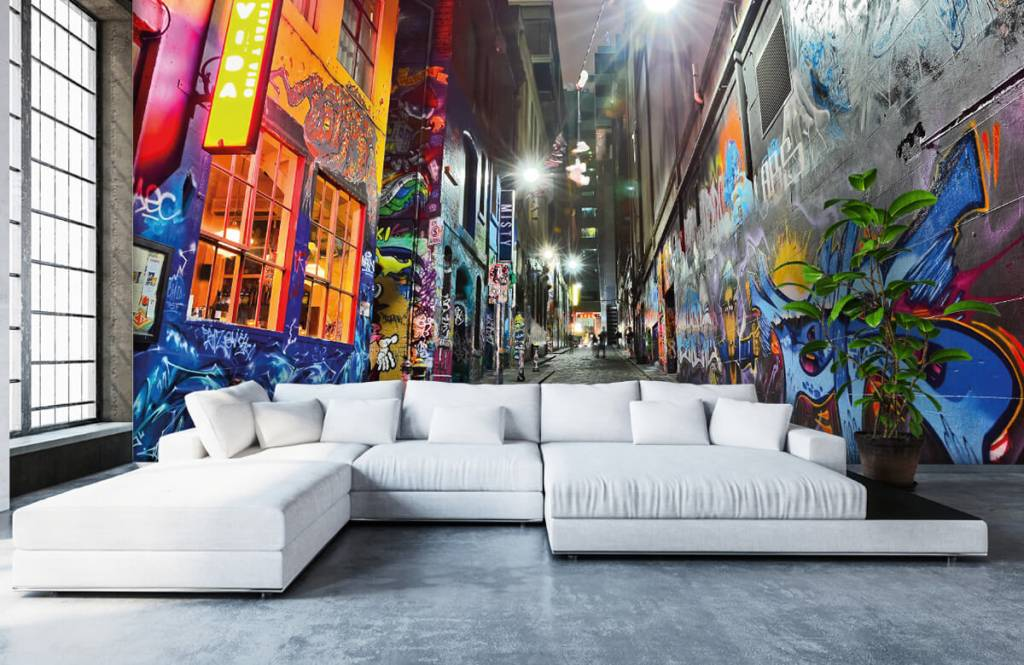 Graffiti - Street with graffiti - Teenage room 1