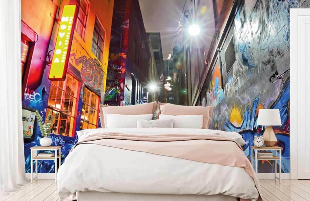 Graffiti - Street with graffiti - Teenage room 2