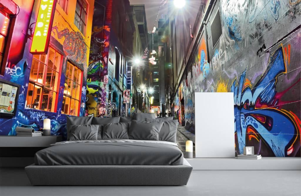Graffiti - Street with graffiti - Teenage room 3