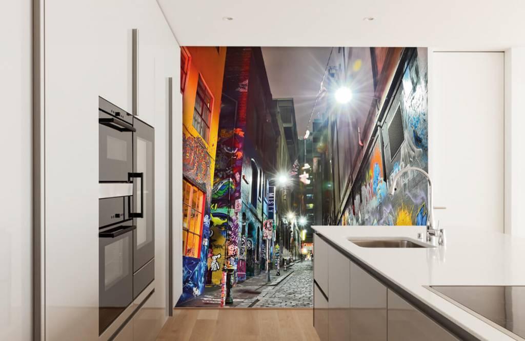 Graffiti - Street with graffiti - Teenage room 4