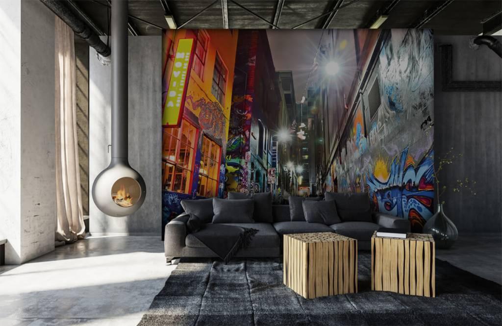 Graffiti - Street with graffiti - Teenage room 6