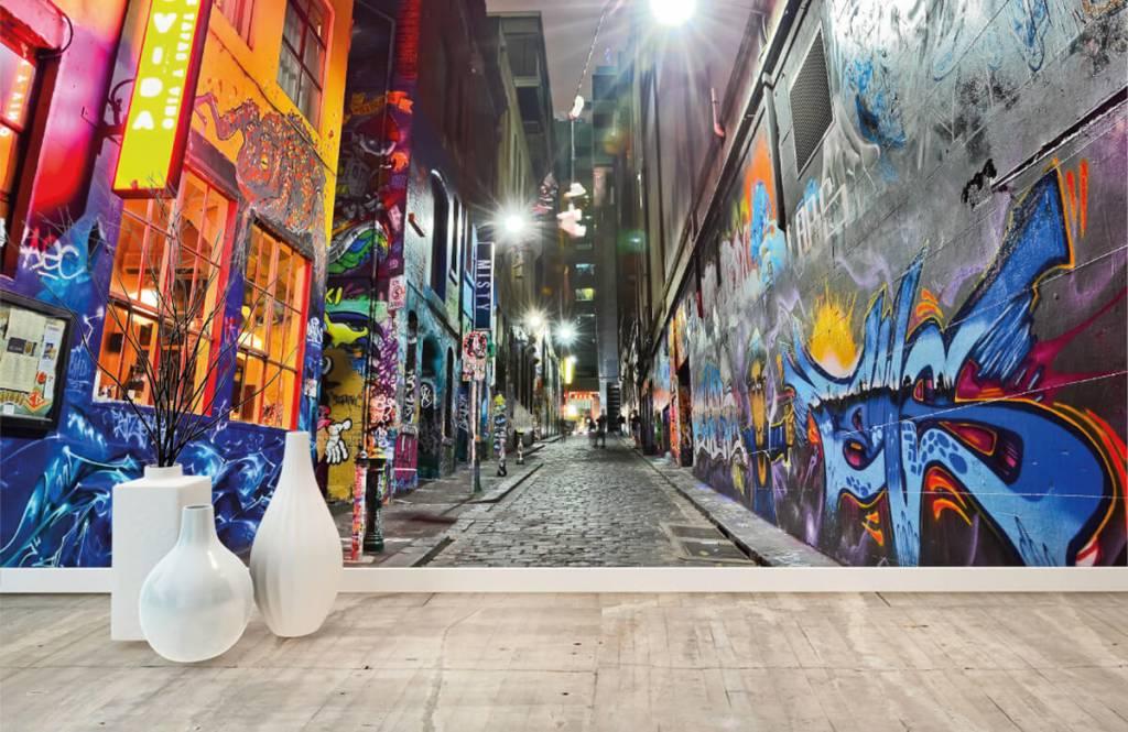 Graffiti - Street with graffiti - Teenage room 8