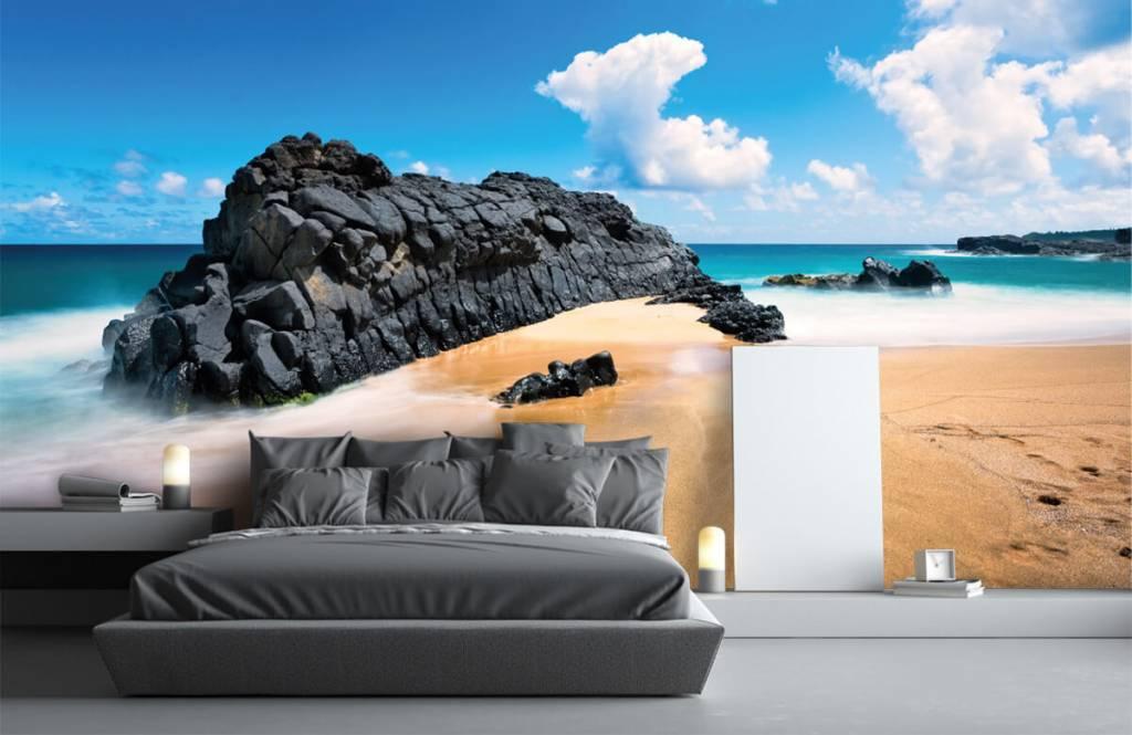 Beach wallpaper - Beach in Hawaii - Living room 1