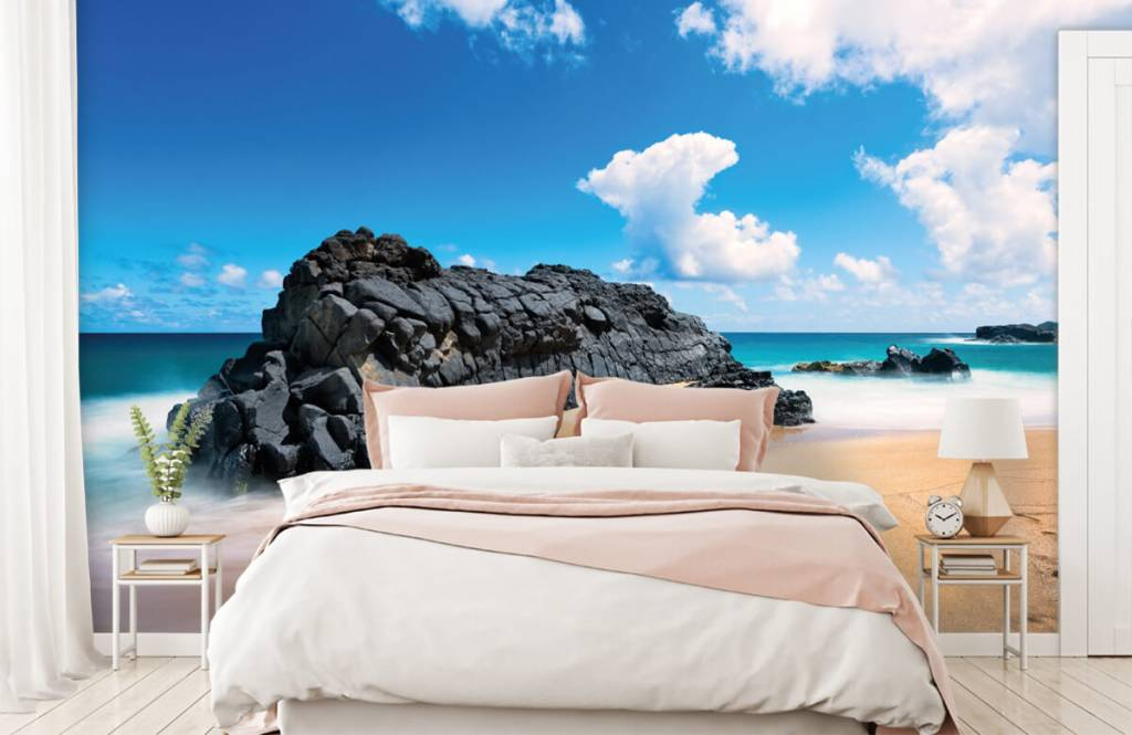 Beach wallpaper - Beach in Hawaii - Living room 2
