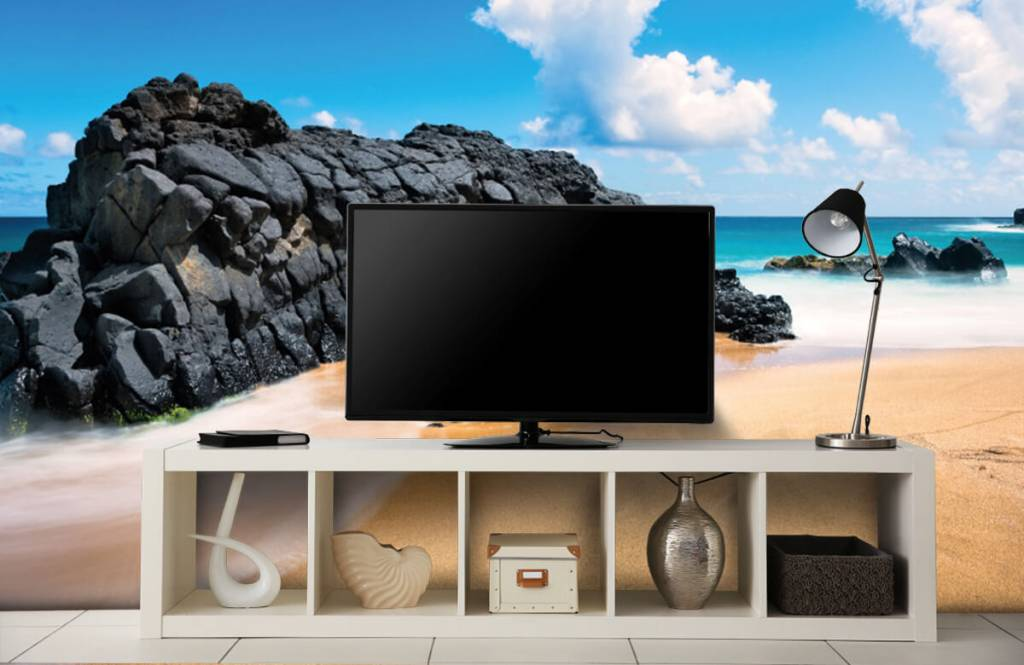 Beach wallpaper - Beach in Hawaii - Living room 4